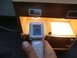 普通塗料(グレー):79.5℃