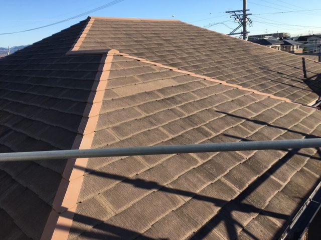 藤枝市屋根塗装前