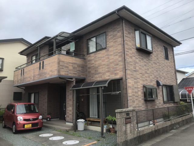藤枝市の住宅塗装