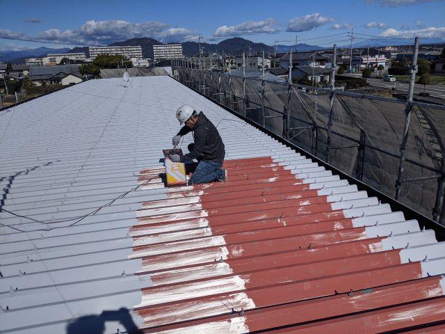 焼津市のアパート塗装工事