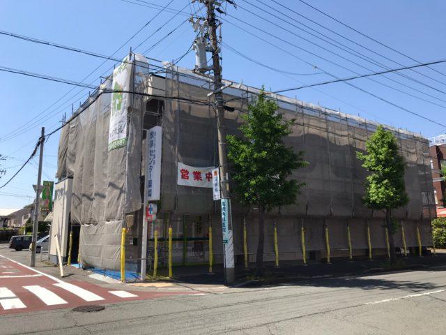 焼津市のアパート塗り替え工事