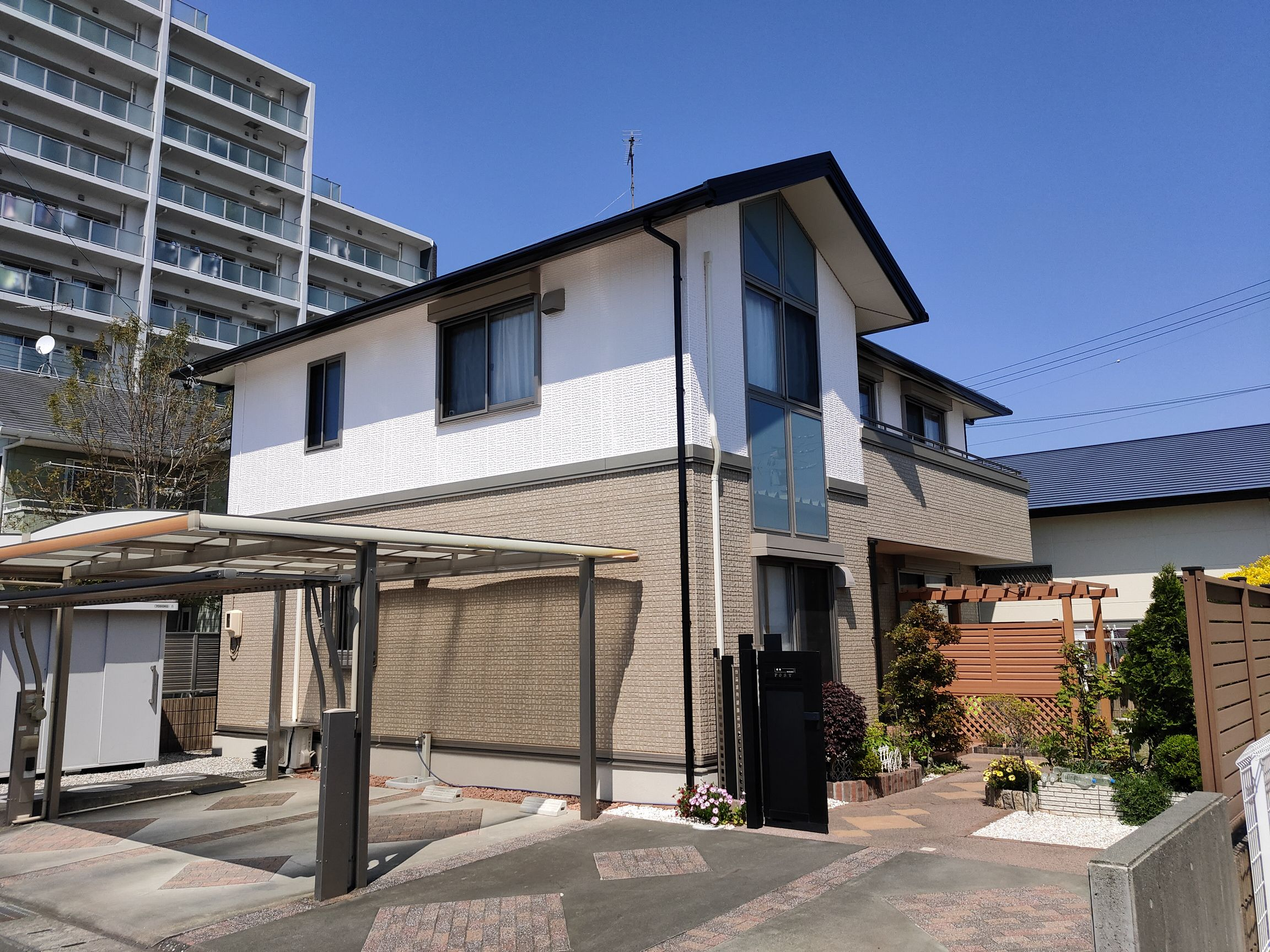焼津市の住宅塗装